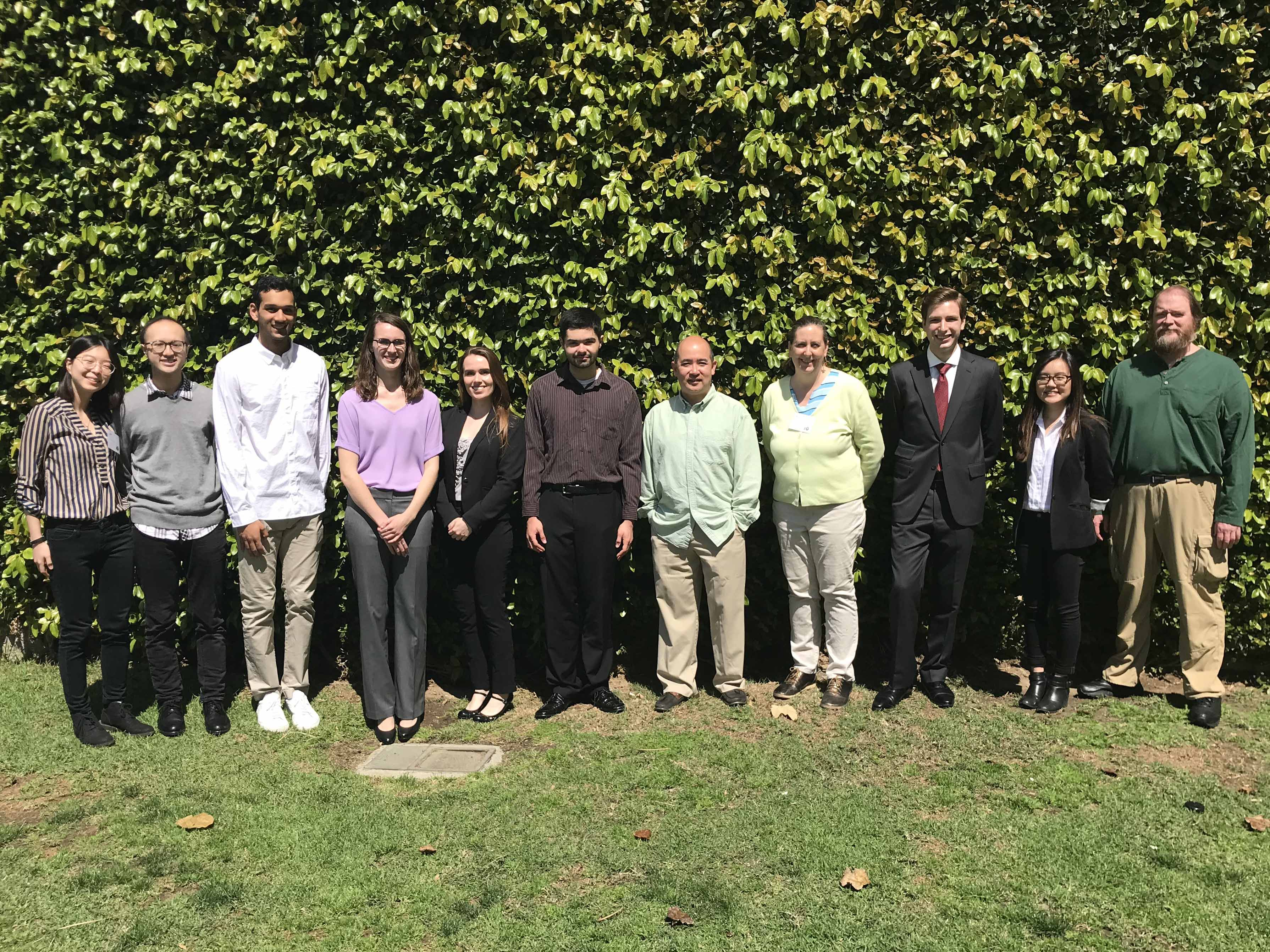 Dahlquist Lab at 2018 LMU Symposium