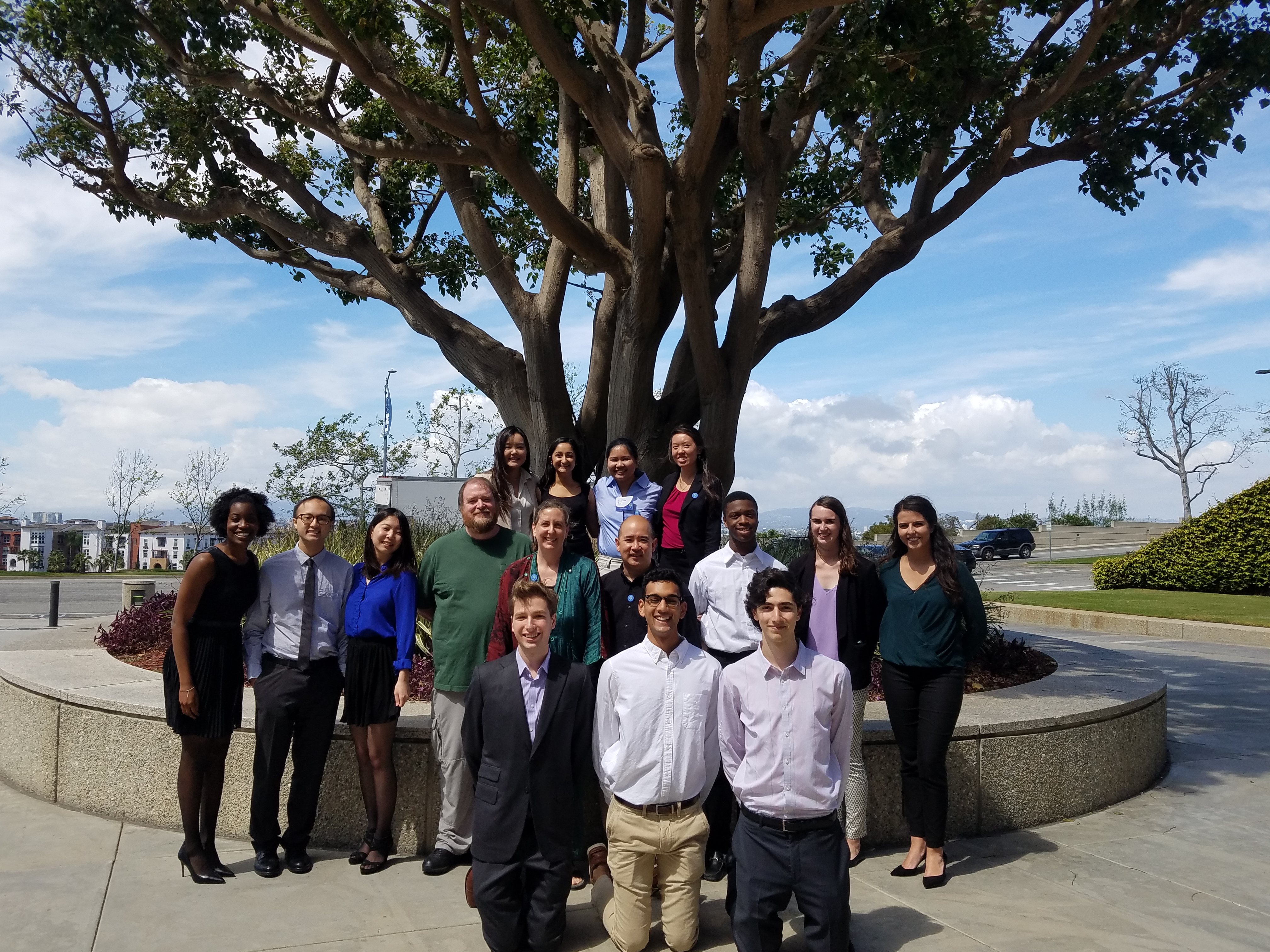 Dahlquist Lab at 2017 LMU Symposium